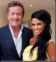 Katie Price and Piers Morgan (ITV)