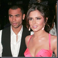 Cheryl and Ashley Cole, REX
