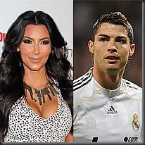 Kim Kardashian, Cristiano Ronaldo, PA