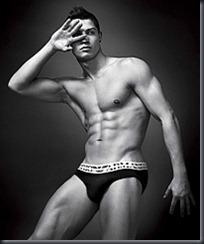 Cristiano Ronaldo for Armani © Rex