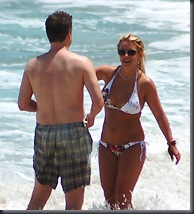 Britney Spears and Jason Trawick (PA Photos)