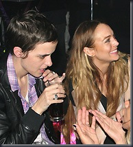 Sam Ronson and Lindsay Lohan (Rex)