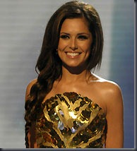 Cheryl Cole on X Factor (Rex)