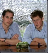 William and Harry in Rainforest Project video