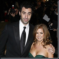 Sacha Baron Cohen and Isla Fisher, PA