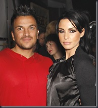 Peter Andre and Katie Price (Rex)