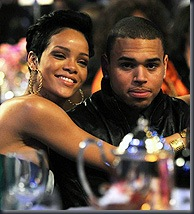 Rihanna and Chris Brown (PA Photos)