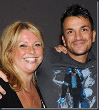 Claire Powell and Peter Andre, Rex Images