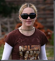 Madonna in Malawi (PA Photos)