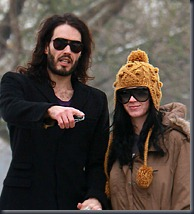 Russell Brand and Katy Perry © Rex