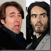 Jonathan Ross and Russell Brand, PA