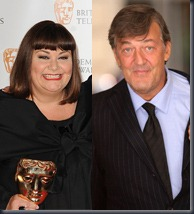 Dawn French and Stephen Fry, PA Photos